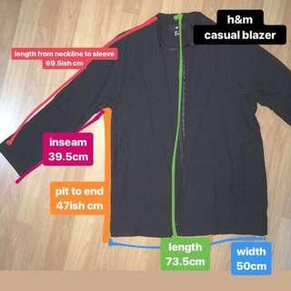 h&m casual blazer