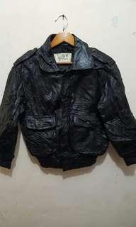 Jaket kulit import ori tebel