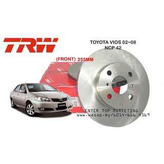 TRW DISC ROTOR BRAKE VIOS NCP42/NCP93/NCP150