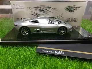 🆕模型車 Jaguar 1比43