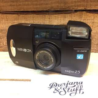 Minolta Point and Shoot Film Camera