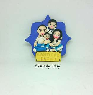 Personalized Ref Magnet (Family)