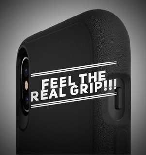 Silk Base Grip for iPhone X Kung Fu Black