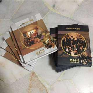 [instock / wts / clearance] wanna one unsealed album day night i promise you / produce 101