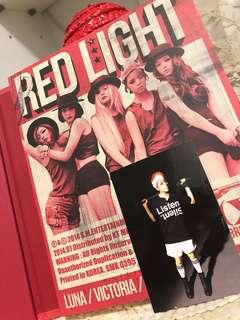 F(x) RED LIGHT 專輯 連唯美寫真❤️ 連AMBERX小卡🔥🔥🔥