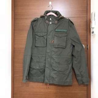 🚚 Timberland 橄欖綠 Mountain M65夾克