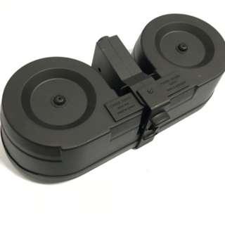 Airsoft Double Drum WARGAME Gel Blaster LeHui HK416,STD,Jin Ming M4 Series Accessories