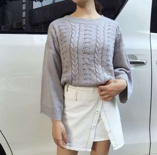 Oversized Knitted Sweater #465