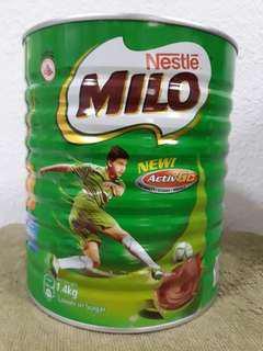 Unopen 1.4kg Milo
