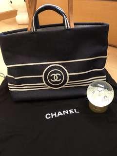 Chanel Denim Tote Bag