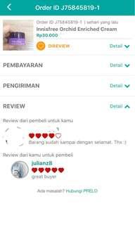 review cust di prelo