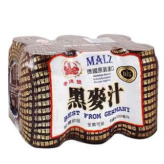 🚚 黑麥汁崇德發330ml6入