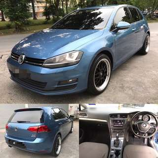 SAMBUNG BAYAR / CONTINUE LOAN  VW GOLF MK7 TSI 1.4CC TURBO TAHUN 2013/2014