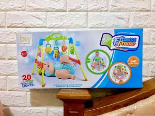 Baby fitness frame
