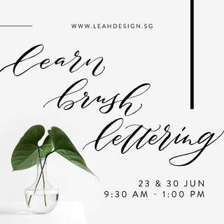 2 Day Brushlettering Course