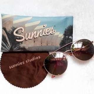 Sunnies Rose Gold Kentaro Shades