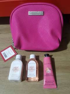 Crabtree & Evelyn travelling kit 3 in 1
