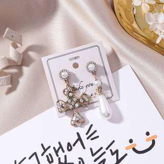 🆕925 Silver Korean Earrings