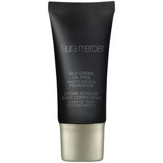 Laura Mercier Silk Creme Oil-FREE Photo Edition Foundation : Suntan