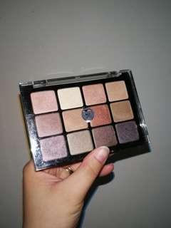 Viseart Shimmer Eyeshadow Palette 06 Paris Nudes