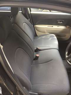 Seat sambung hitam passo