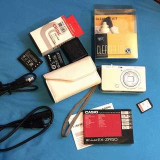 🚚 CASIO EXILIM EX-ZR50 美肌相機