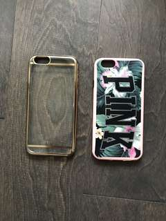 2 IPHONE 6 CASES FOR $5.00