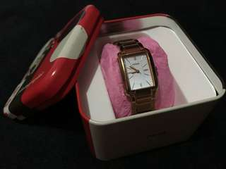 FOSSIL Florence Rose Goldtone Watch