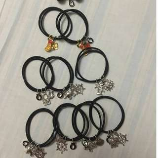Burlo Bracelet with charms