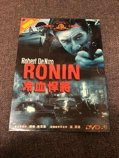 🚚 Ronin 冷血悍將 DVD 中文字幕