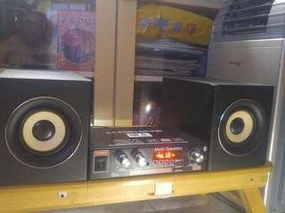 音響喇叭Hi fi stereo amplifier set