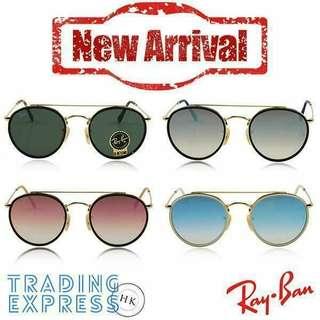 【Yahoo團購優惠】$599 Ray-Ban 太陽眼鏡 夏天最熱賣精選款式💕 100%原裝正貨,數量有限,賣完即止!