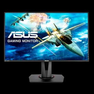 🚚 ASUS VG278Q 27 Inch Gaming Monitor 3 Years On-site Warranty
