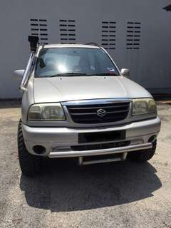 2002 Suzuki Grand Vitara 1.6 (A) 3 Doors