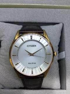 代購 CITIZEN 光動能男裝腕錶