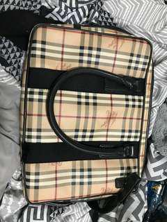 Burberry laptop bag/ Briefcase