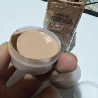 SHARE IN JAR Maybelline Matte poreless 125 nude beige