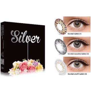 SOFTLENS X2 SILVER ICE ( FREE 2pcs tempat softlens)