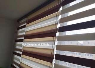 Korean combi blinds / zebra blinds