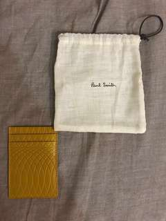 全新 Paul smith leather card holder (連原裝小布袋)