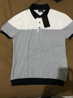 Zara man linen polo