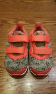 Adidas mickey mouse ortholite sneakers