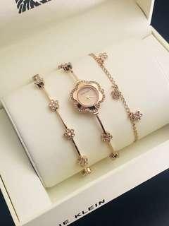代購 ANNE KLEIN 女裝腕錶➕首飾套裝