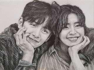 🚚 Fanart Commission / Kpop Realistic Portrait Drawing / Portrait Commission / Fan Art Commission
