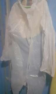 Rain coat disposable