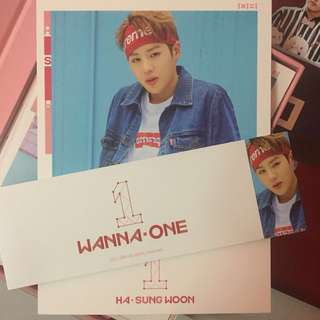 [WTS/WTT] HA SUNGWOON TO BE ONE CC + SLEEVE