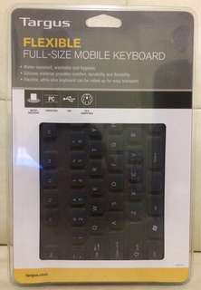 Targus Flexible Full-Size Mobile Keyboard  silicone 全新未開