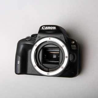 🚚 (九成新)Canon EOS 100D+18-55 STM KIT