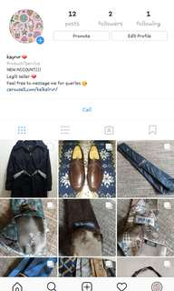 PLEASE FOLLOW ME ON IG! SELLING ACCT TOO ❤