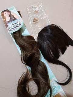 wig hair dan pini ekstention